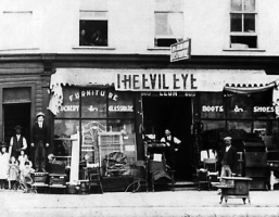 Leon Abremovich and Evil Eye 605 Main St _1901